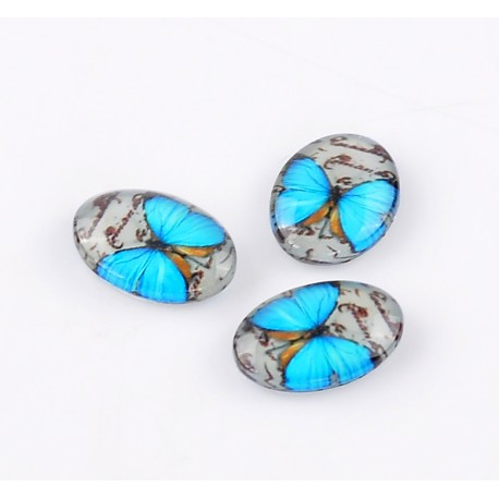 Cabochon Papillon 18 x 13 mm