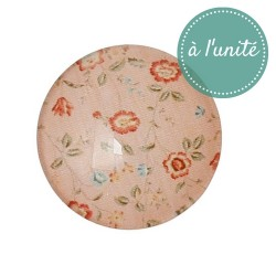 DESTOCKAGE - Cabochon en verre Liberty 20 mm