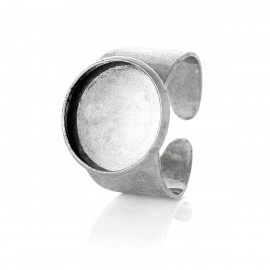 Bague support cabochon 14 mm