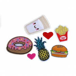 Motif - Patch thermocollant Gourmandises - Au choix !