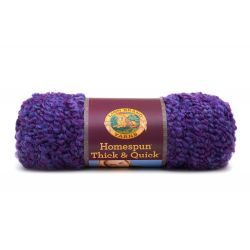 Pelote de laine (227 grammes !) Homespun Thick and Quick col. 421 de Lion Brand Yarns