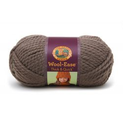 Pelote de laine (170 grammes !) Woolease Thick and Quick col. 122 de Lion Brand Yarns