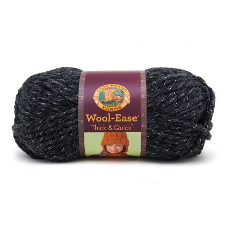 Pelote de laine (140 grammes !) Woolease Thick and Quick col. 303 de Lion Brand Yarns