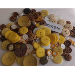 DESTOCKAGE - (X 100 gr) Lot de boutons assortis