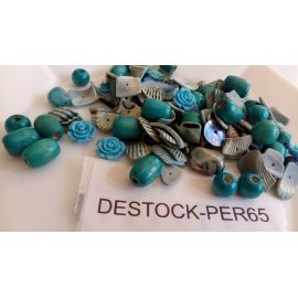 DESTOCKAGE - (X 100 gr) Lot de perles assorties