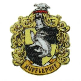 Ecusson brodé thermocollant Hufflepuff/Poufsouffle
