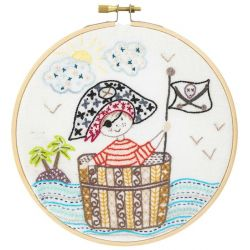 Coffret Kit de Broderie SOS Pirate en Détresse