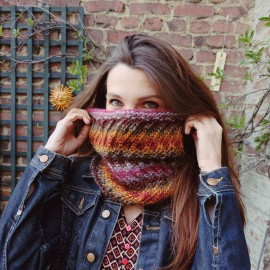 Tutoriel Le Snood Pop'nTwist