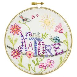 Coffret Kit de Broderie Vive la Nature !