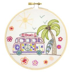 Coffret Kit de Broderie Road trip à Miami