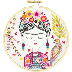 Coffret Kit de Broderie Jolie Frida