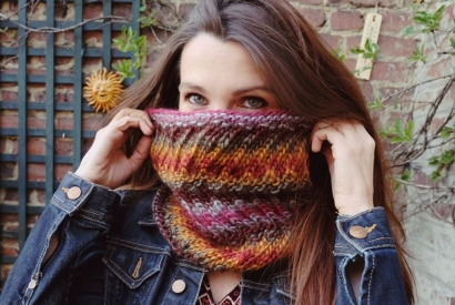 Votre Snood Pop'n Twist en Kit à 12,90 euros